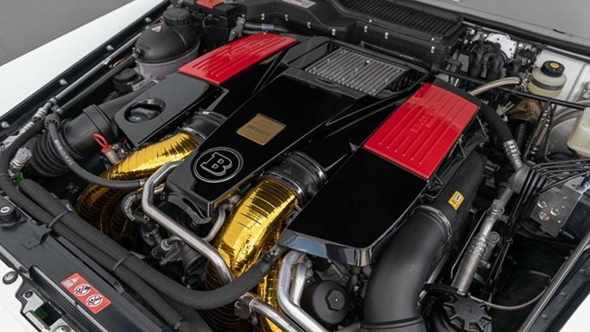 Mercedes-AMG G63 2018 cực chất với bản độ Brabus 3