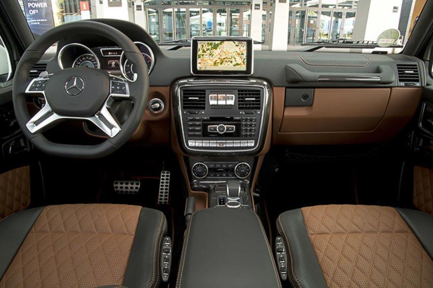 Mercedes-AMG G63 2018 cực chất với bản độ Brabus 8