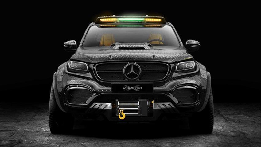 Mercedes X-Class 3