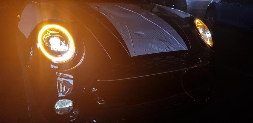 Hình ảnh cụm đèn LED chiếu sáng