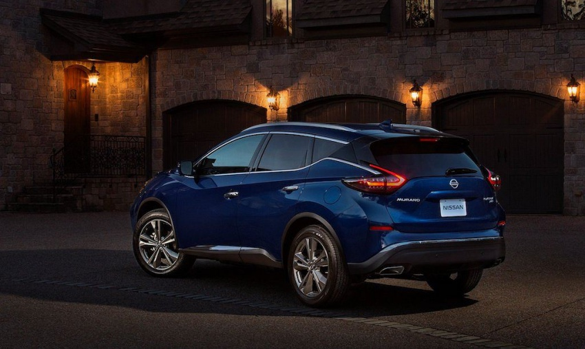 Nissan Murano 2019 nâng cấp
