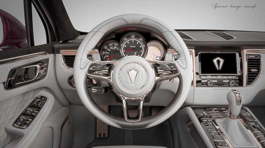 Nội thất vàng hồng cực sang mới cho Porsche Macan 1