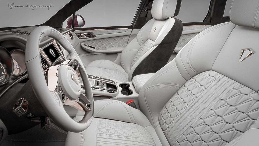 Nội thất vàng hồng cực sang mới cho Porsche Macan 3