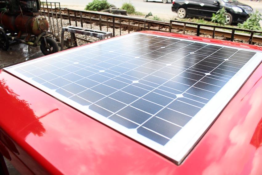 ôtô chạy bằng năng lượng mặt trời 3