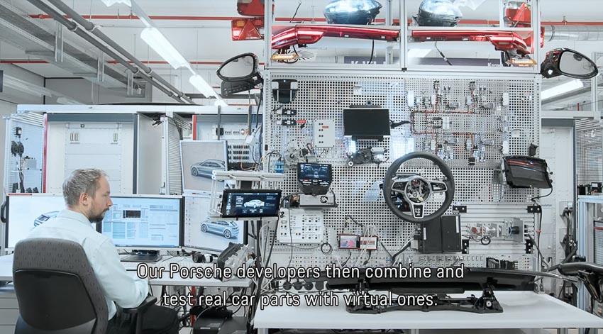 Porsche tiến hành thử nghiệm các mẫu xe mới bằng công nghệ thực tế ảo 5