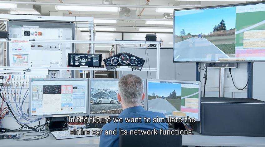 Porsche tiến hành thử nghiệm các mẫu xe mới bằng công nghệ thực tế ảo 6