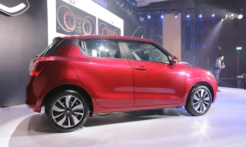 Suzuki Swift 2018 ra mắt tại Việt Nam