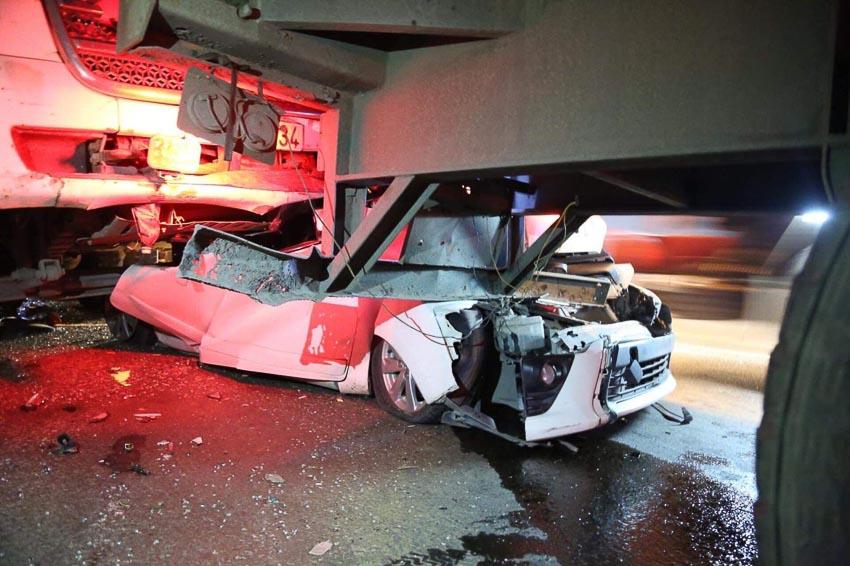 Tai nạn liên hoàn trên cầu Phú Mỹ 4