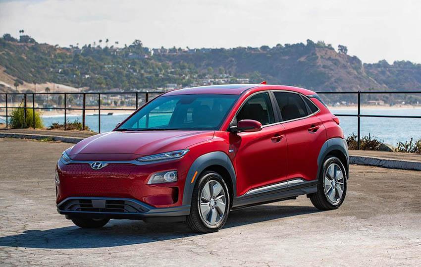 Crossover chạy điện Hyundai Kona EV