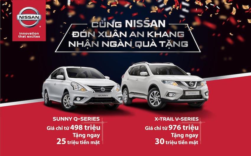 Nhận ưu đãi 30 triệu đồng khi mua xe Sunny và X-Trail V-series dịp cuối năm 3