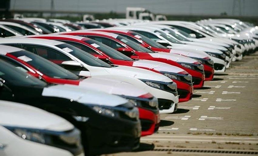 Xe nhập tăng cao nhất kể từ đầu năm 2