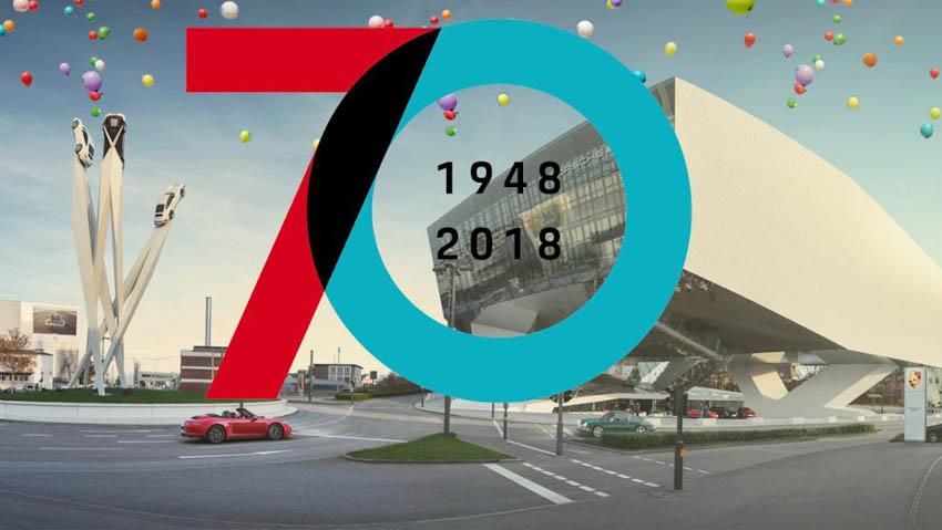 Porsche ghi dấu ấn với năm 2018: Mừng sinh nhật 70 tuổi 13