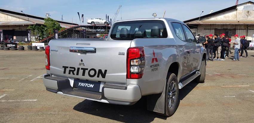 Mitsubishi Triton 2019 chinh thuc ra mat tai Viet Nam