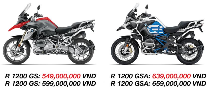 ưu đãi dành cho các mẫu xe mô tô BMW