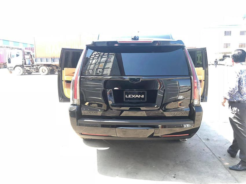 Cadillac Escalade bản độ Lexani 6