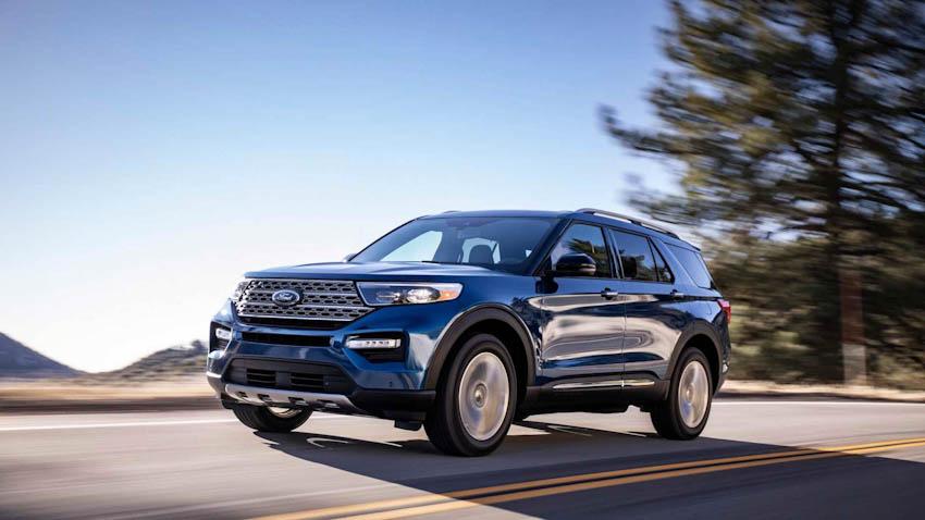 Ford Exlorer 2020 19
