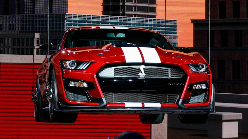 Ford Shelby GT500 2020 21