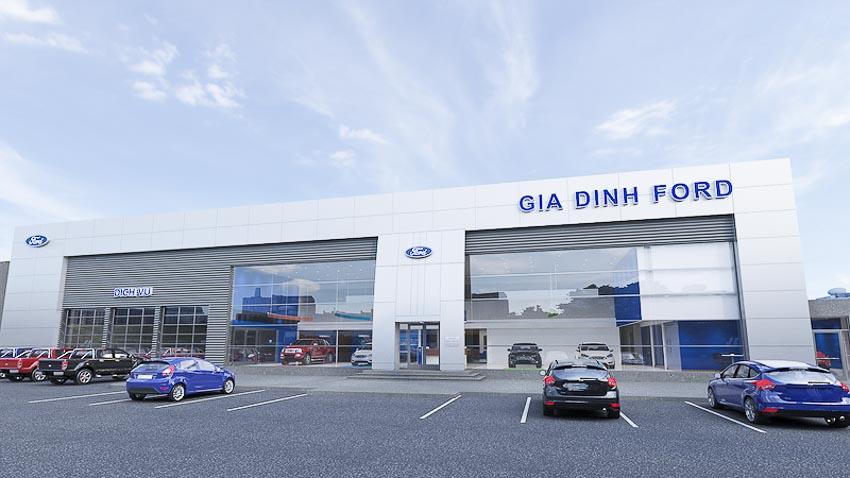 Ford Việt Nam khai trương đại lý chính hãng Gia Định Ford 1