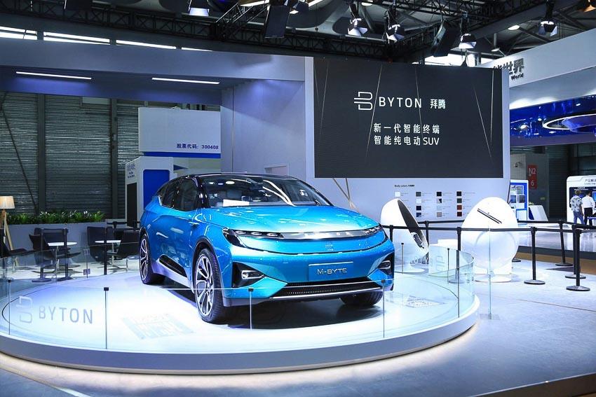 Hãng xe Byton của Trung Quốc 7