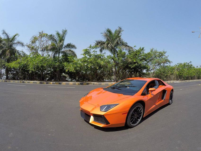 Honda Accord độ lại giống 90% Lamborghini Aventador 1