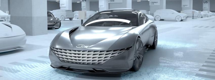 Hyundai giới thiệu công nghệ sạc không dây cho xe tự hành
