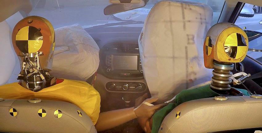 Hyundai phát triển hệ thống túi khí đa va chạm