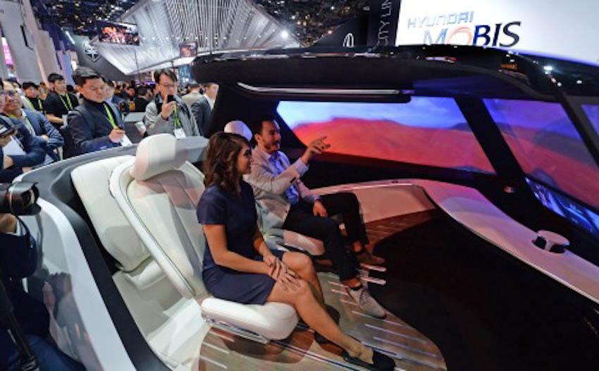 Hyundai Mobis ra mắt concept xe tương lai 1
