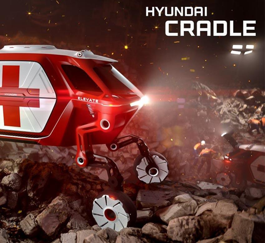 [CES 2019] Hyundai sẽ trình diễn Elevate 4 chân thách thức mọi địa hình 1