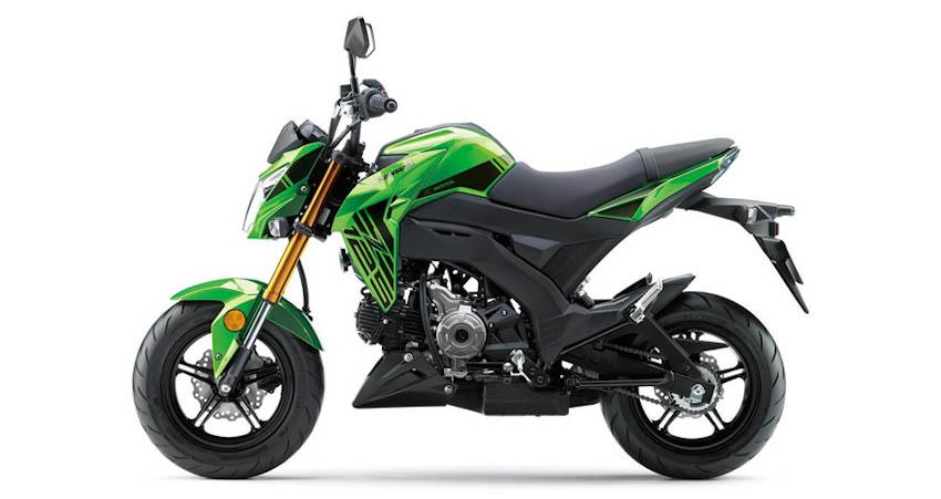 Kawasaki Z125 Pro 2019 12