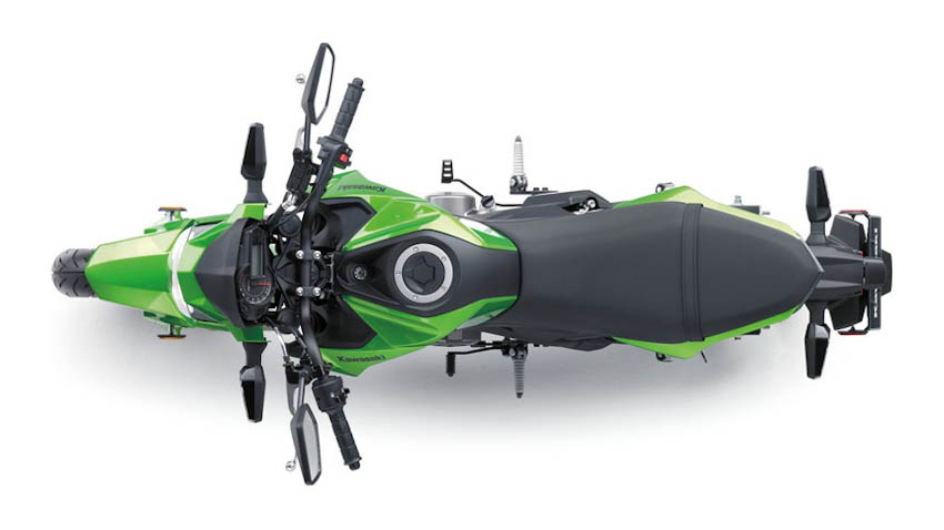 Kawasaki Z125 Pro 2019 9