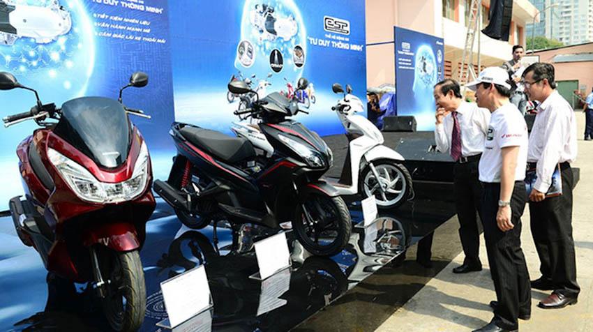 Khách Việt mua hơn 3 triệu xe máy trong năm 2018 2