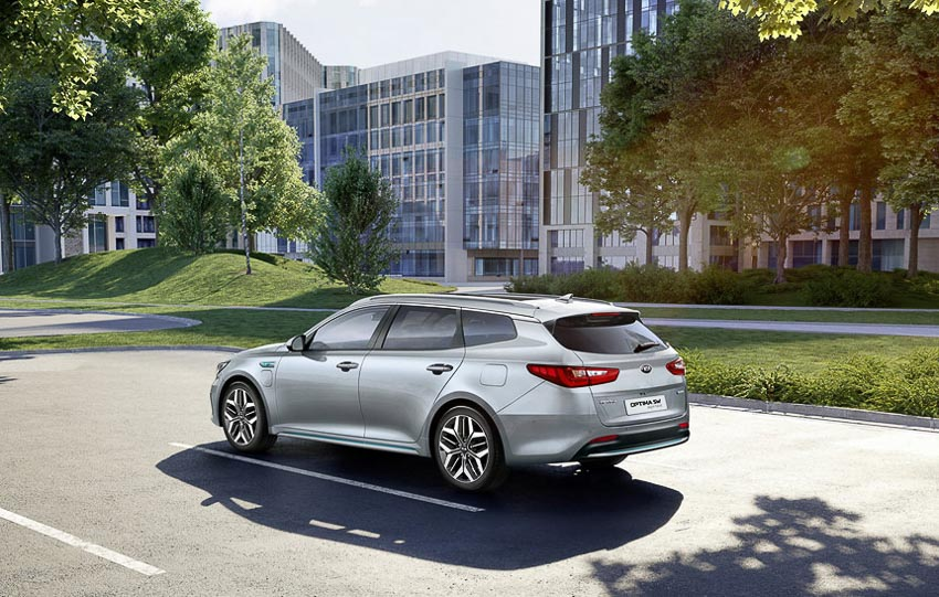 Kia Optima Sportswagon Hybrid 2019 7