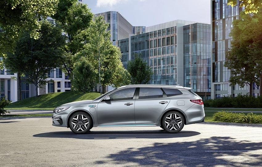 Kia Optima Sportswagon Hybrid 2019 9