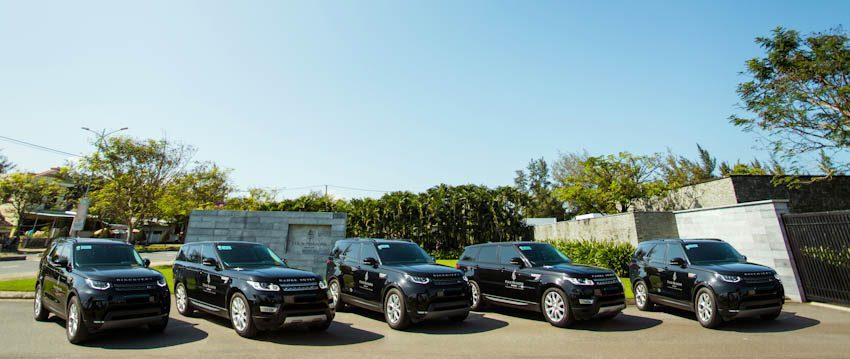 Land Rover giao lô xe cho Resort The Nam Hai
