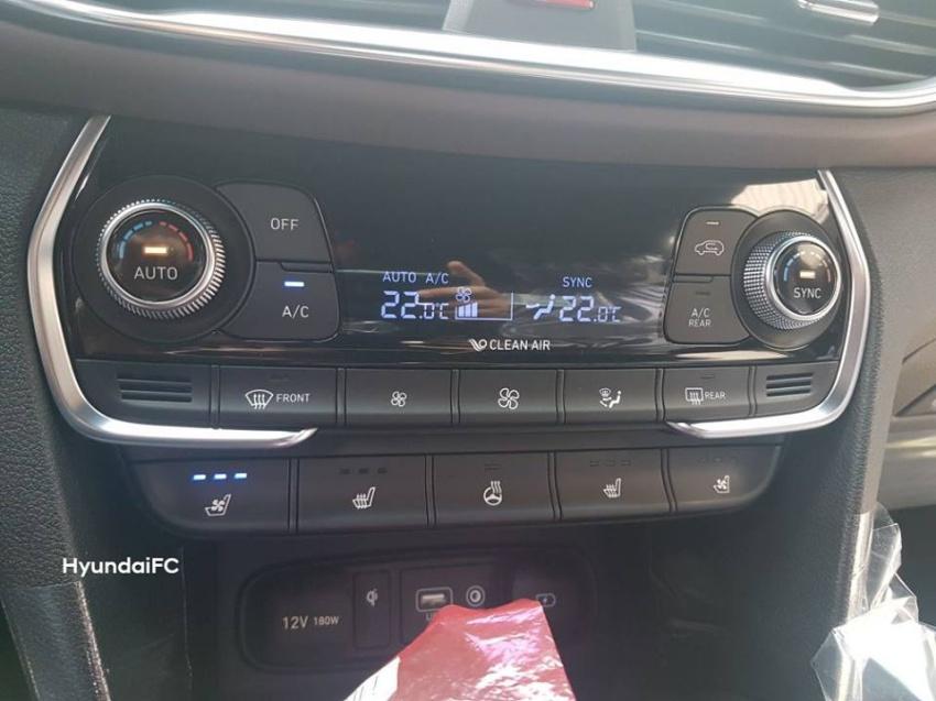 nội thất của Hyundai Santa Fe 2019 bản full-option
