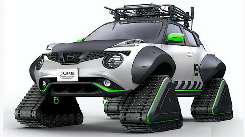 Nissan mang Juke, X-Trail bản độ đến triển lãm Tokyo Auto Salon 1