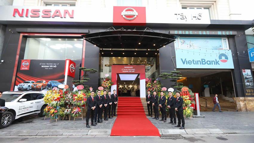 Nissan Việt Nam khai trương Đại lý 1S Nissan Tây Hồ 1