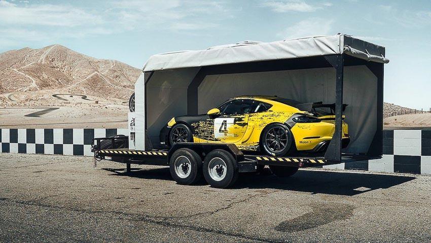 Porsche 718 Cayman GT4 Clubsport 5