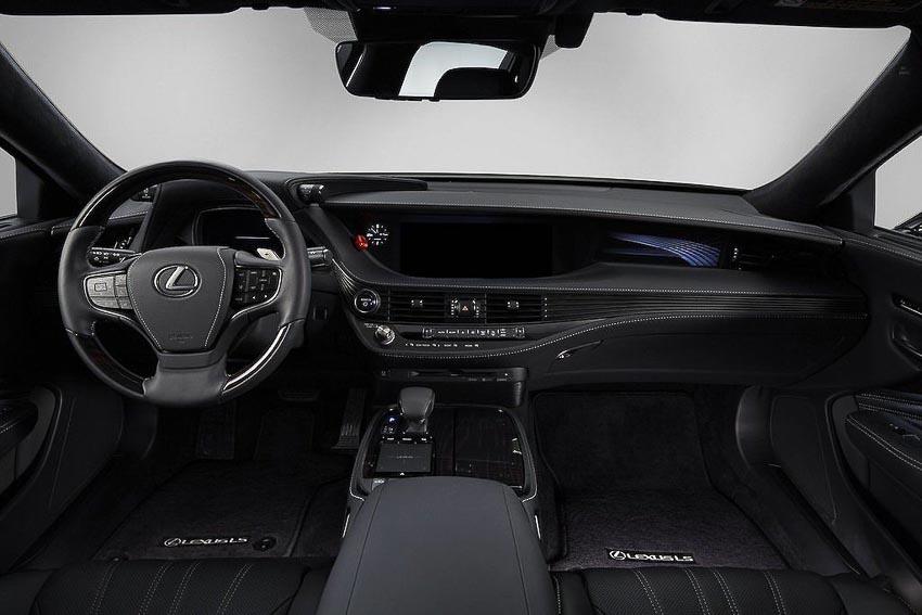 Toyota thử nghiệm tài xế ảo tự lái trên xế sang Lexus LS 500h 4