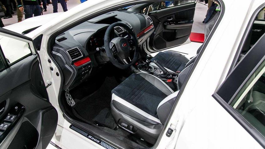Subaru WRX STI S209 5