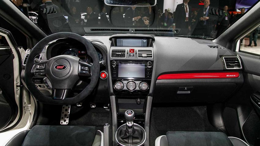 Subaru WRX STI S209 6