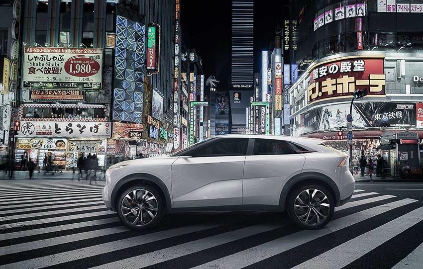 SUV điện Infiniti QX Inspiration 2