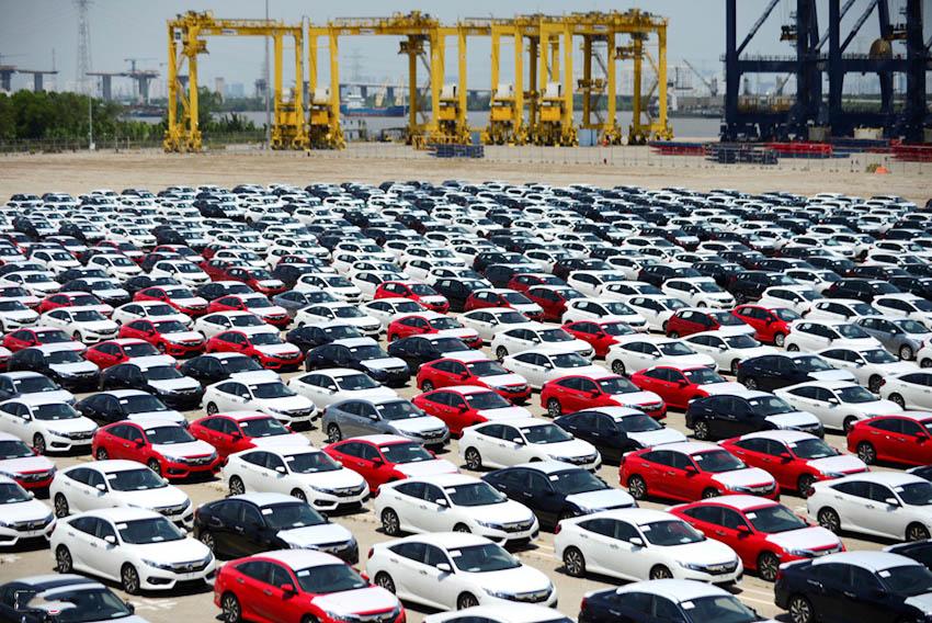 thị trường ôtô nhập khẩu 2