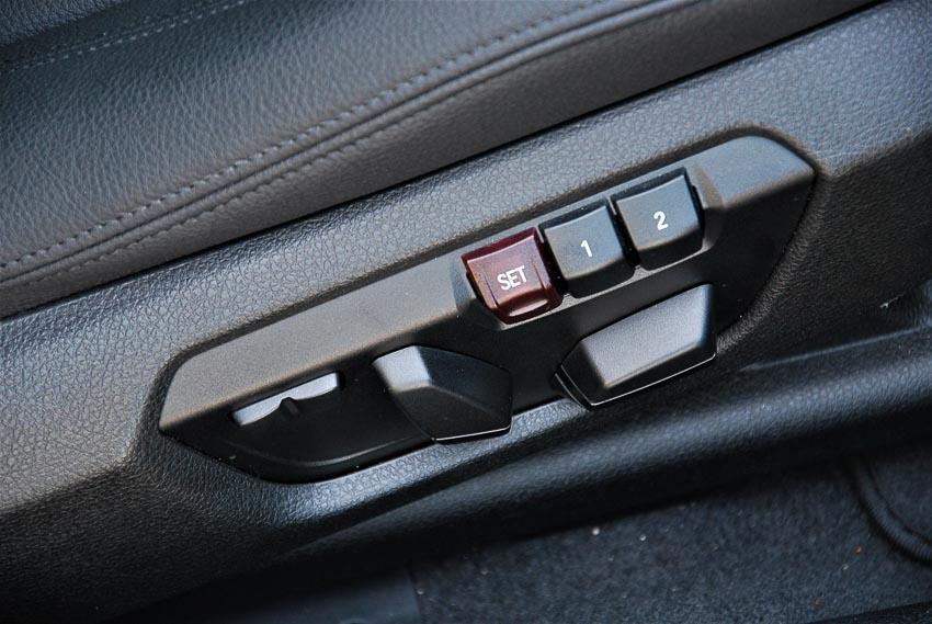 tính năng nhớ vị trí ghế trên ôtô 1