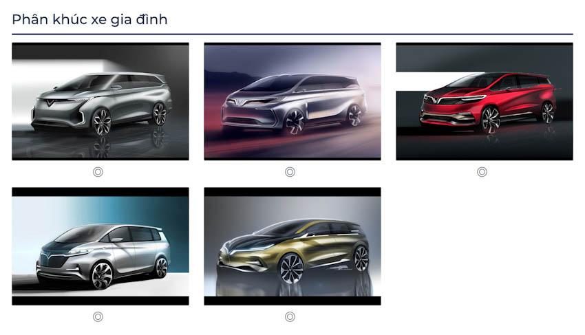 VinFast Premium chính thức công bố với 7 mẫu ôtô 3