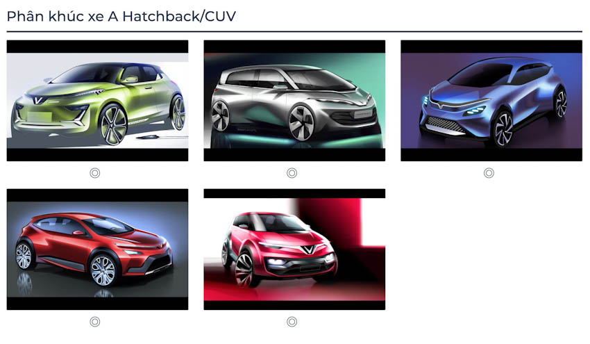VinFast Premium chính thức công bố với 7 mẫu ôtô 4