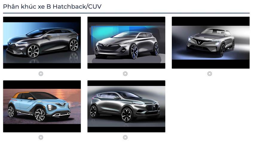 VinFast Premium chính thức công bố với 7 mẫu ôtô 5
