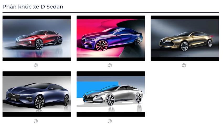 VinFast Premium chính thức công bố với 7 mẫu ôtô 8