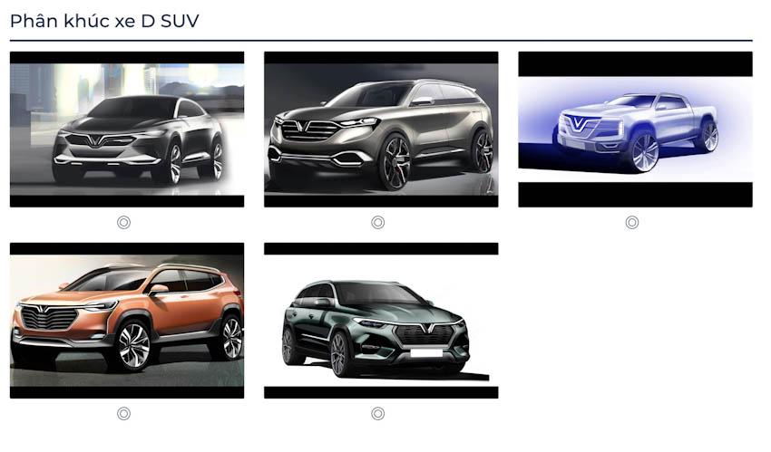 VinFast Premium chính thức công bố với 7 mẫu ôtô 9