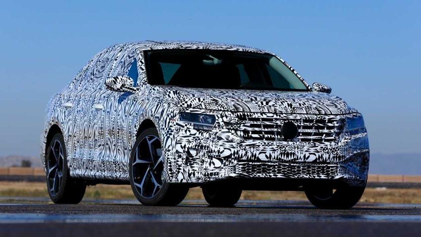 Volkswagen tung ảnh nhá hàng Passat 2